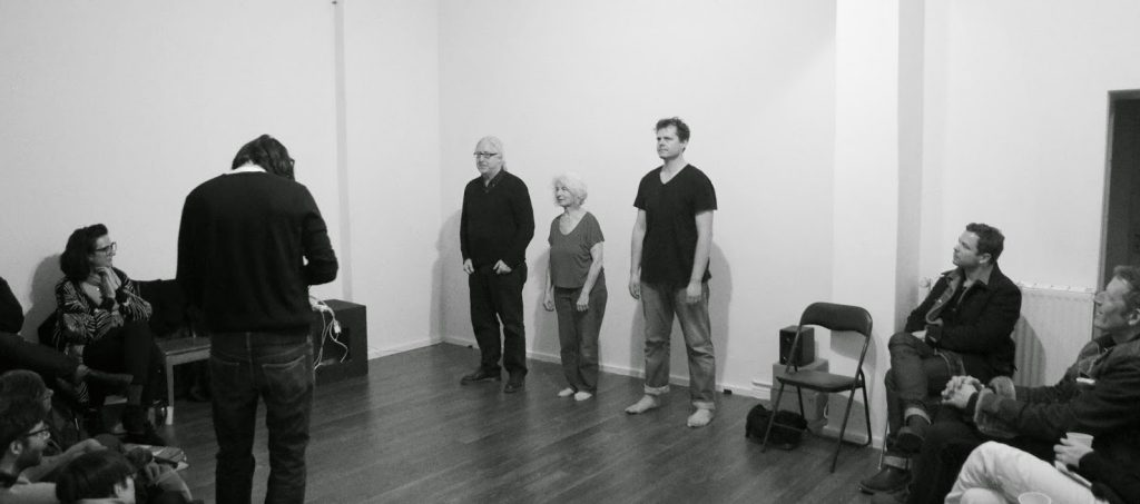 Simone Forti, Jeremiah Day, Fred Dewey, Errant Bodies, Berloin 2012