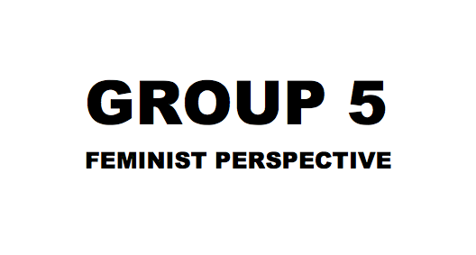 Grupp 5 - Feministiska perspektiv