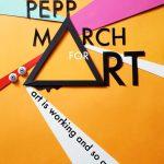 Pepp March for Art- En gemensam läsning om det immateriella arbetet. 19+20 maj